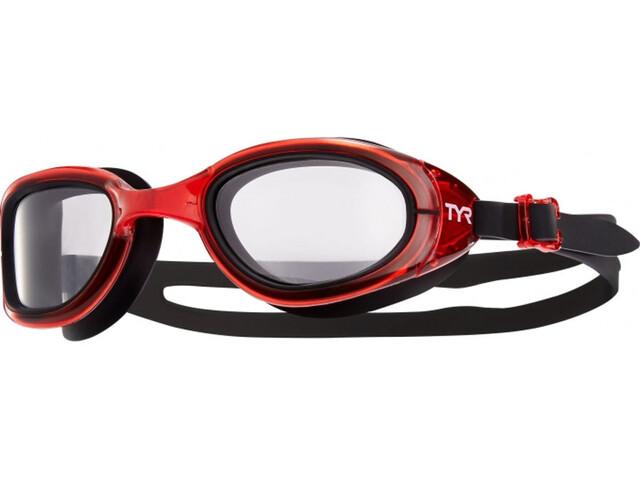 TYR Special Ops 2.0 Transition duikbrillen rood/zwart